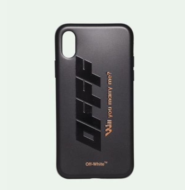 【関税込】新作■Off White■MODERN OBSTACLES iPhone X ケース