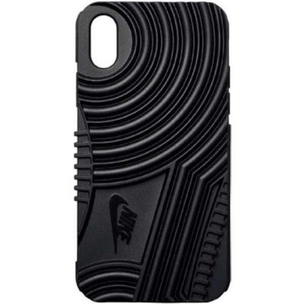 NIKE DG0025-001 IPHONE X CASE AIR FORCE 1 BLACK