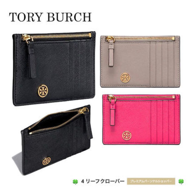 新作!★Tory Burch★ROBINSON SLIM CARD CASE