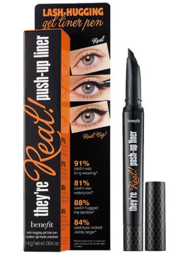 新作☆Benefit☆They're Real!☆Push-up liner☆アイライナー