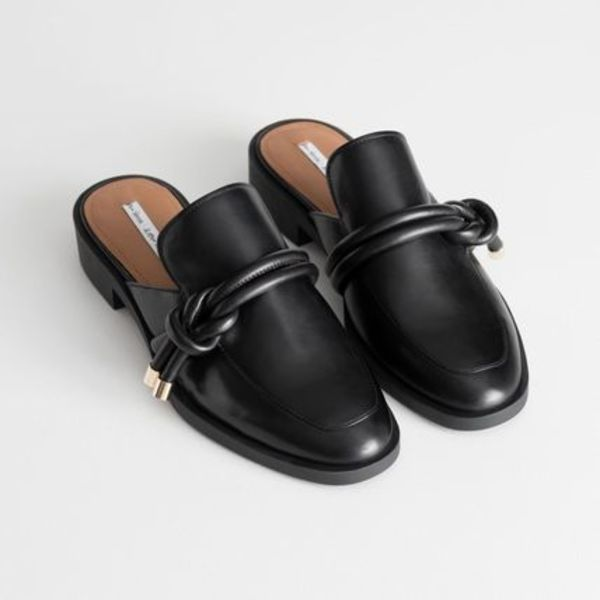 ★&Other Stories★Reef Knot Loafers★ブラック★