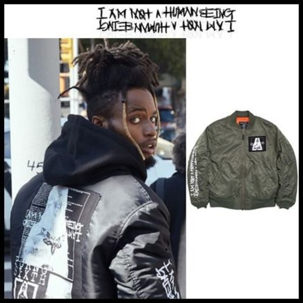 ☆I AM NOT A HUMAN BEING☆ Porno 6 Flight Jacket