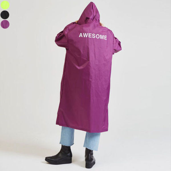 ☆OPEN THE DOOR☆awesome レインコート (3色展開) unisex