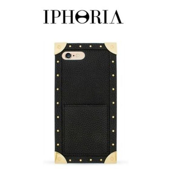 【IPHORIA】Trunk Case Black  iPhone 7 Plus/ 8 Plus