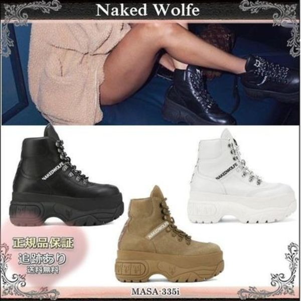 19AW☆送料込【Naked Wolfe】 WICKED レースアップスニーカー