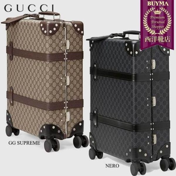 【正規品保証】GUCCI★18秋冬★GLOBE-TROTTER GG CARRY-ON