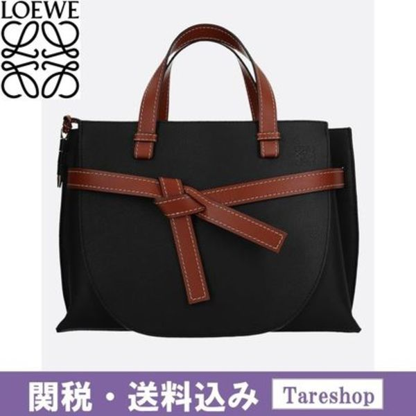【関税送料込】LOEWE(ロエベ) GATE LEATHER TOP HANDLE BAG