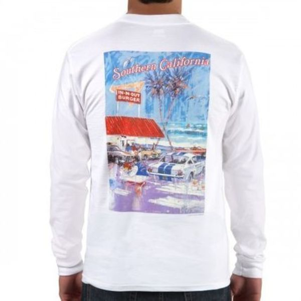 IN-N-OUT AT THE BEACH LONG SLEEVE  トップス
