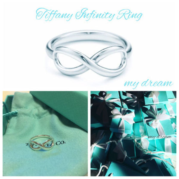 【Tiffany & Co】TIFFANY INFINITY Ring in Sterling Silver