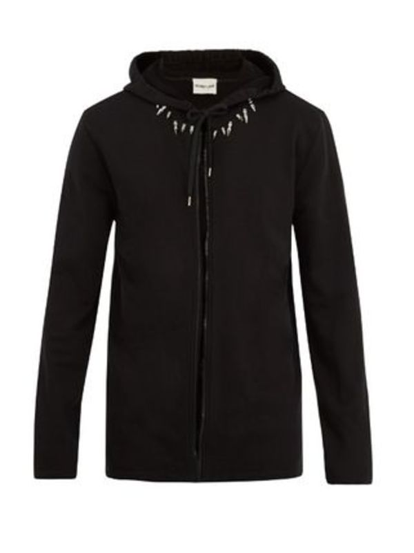 RE-EDITION Studded French Terry Hoodie スタッズパーカー