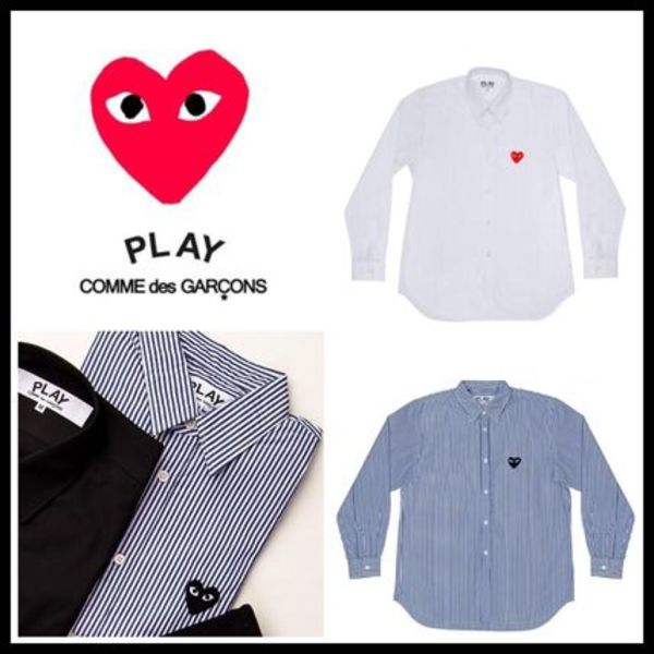 COMME des GARCONS PLAY プレイハートロゴ レディースシャツ
