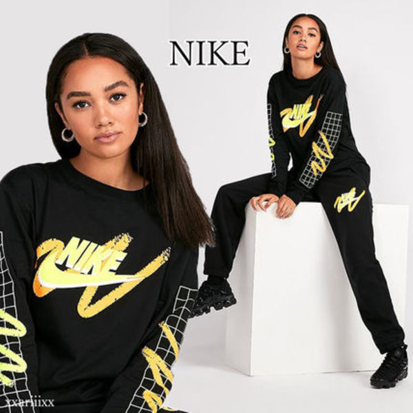 ◆NEW◆NIKE◆ロゴ ロングスリーブ トップ