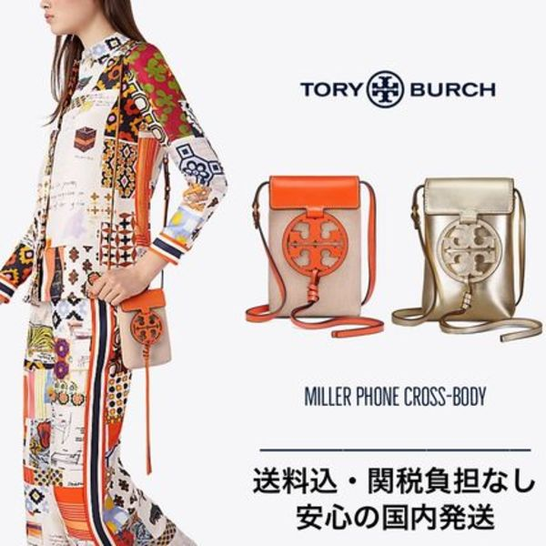 【限定セール】Tory Burch MILLER PHONE CROSS-BODY 国内発送♪