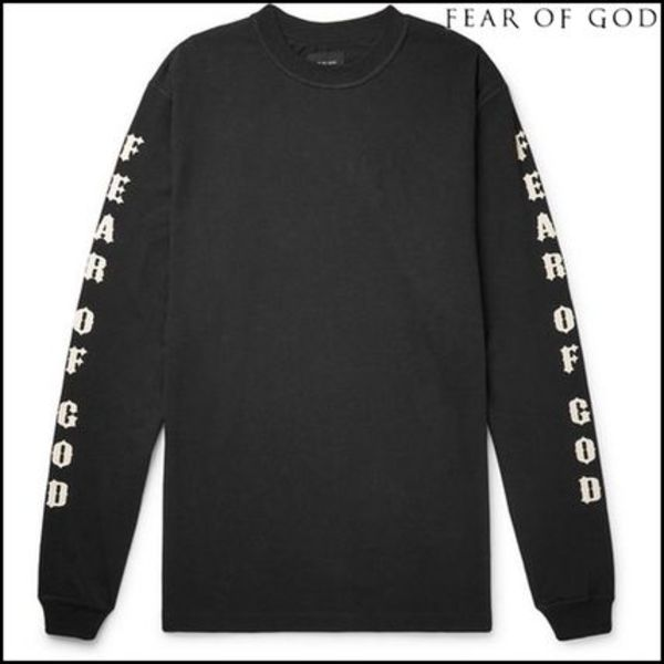 【FEAR OF GOD】Warren Lotas Oversized Printed Cotton-Jersey