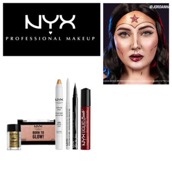 NYX ワンダーウーマン メイクアップセット