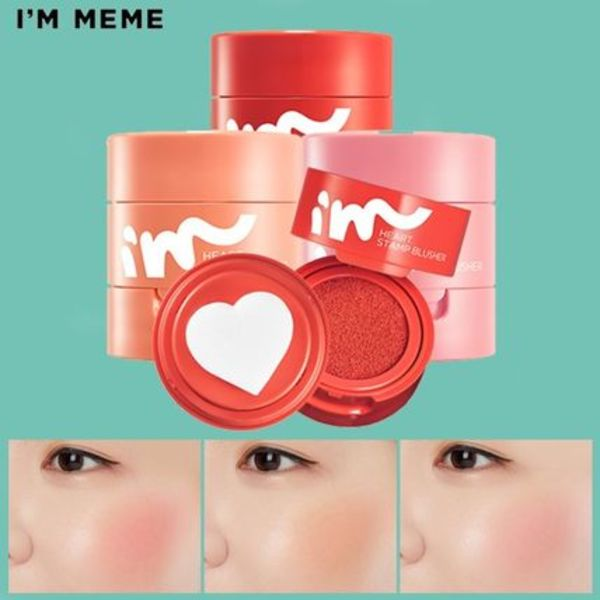 I'M MEME★I'M heart STAMP Blusher