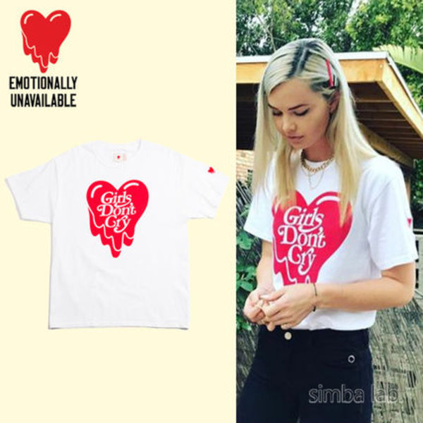 【入手困難】 EU × Verdy Girls Don't Cry Tee Tシャツ