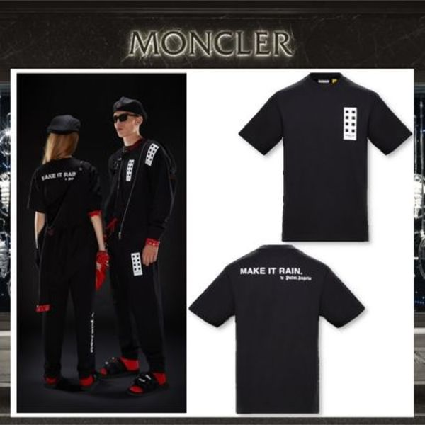 18AW 8 MONCLER PALM ANGELS ☆ コットンジャージー Tシャツ