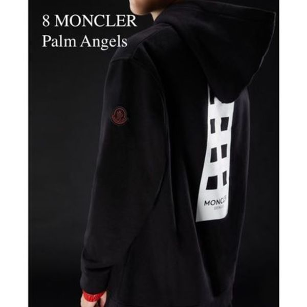 【 MONCLER GENIUS】Palm Angels コラボ フーディー (関送込)