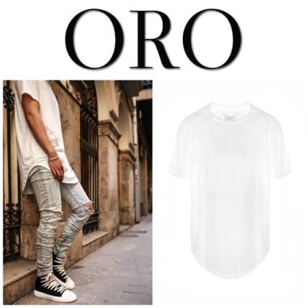 【ORO LOS ANGELES】☆日本未入荷☆ THE OMNI SCALLOP TEE