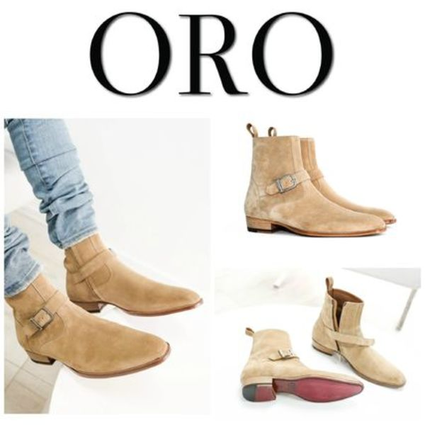 【ORO LOS ANGELES】☆日本未入荷☆ THE MADRID STRAP BOOTS