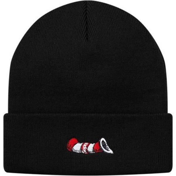 国内正規 Supreme Cat in the Hat Beanie Black
