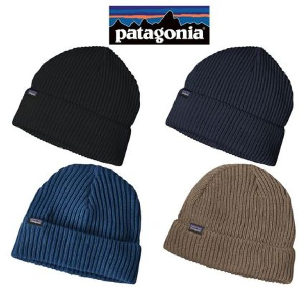大人気*Patagonia*ビーニー Fishermans Rolled Beanie