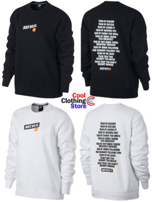 日本未発売 Nike JDI Just Do It Crewneck 2色 ナイキ XS~XL