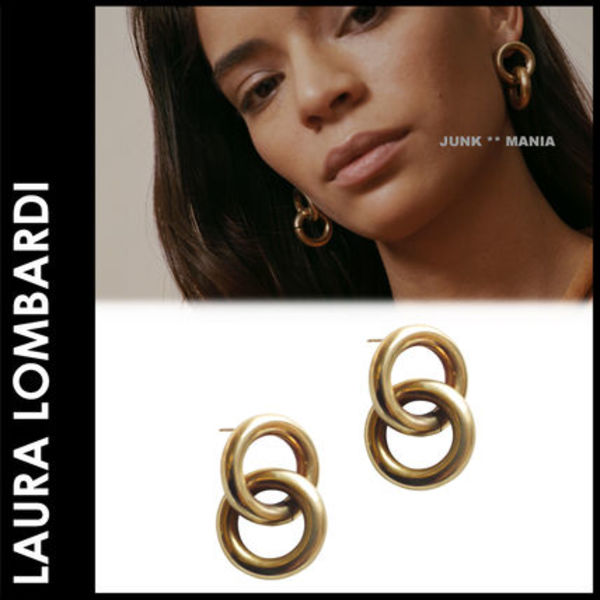 ★追跡&関税込【Laura Lombardi】Link Earrings/ピアス