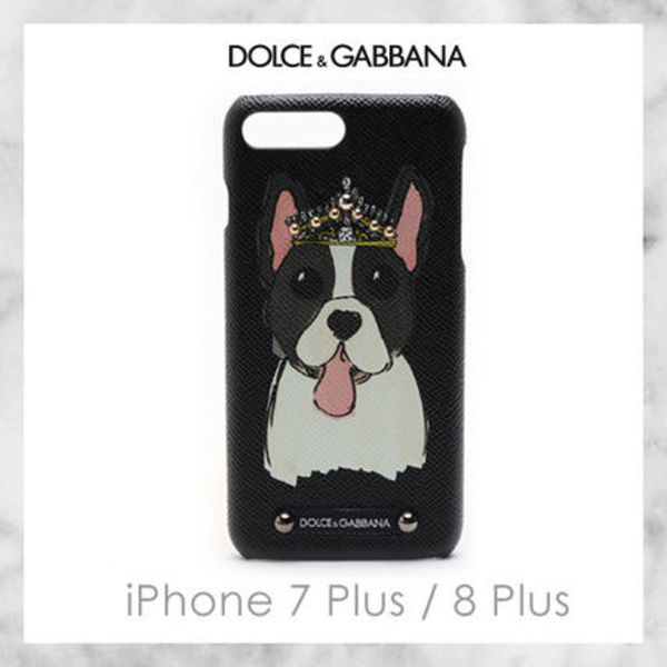 【Dolce & Gabbana】CROWNED DOG IPHONE 7/8 PLUS ケース