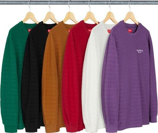◆◆Supreme◆◆2018aw fw ROPE STRIPE ロンT