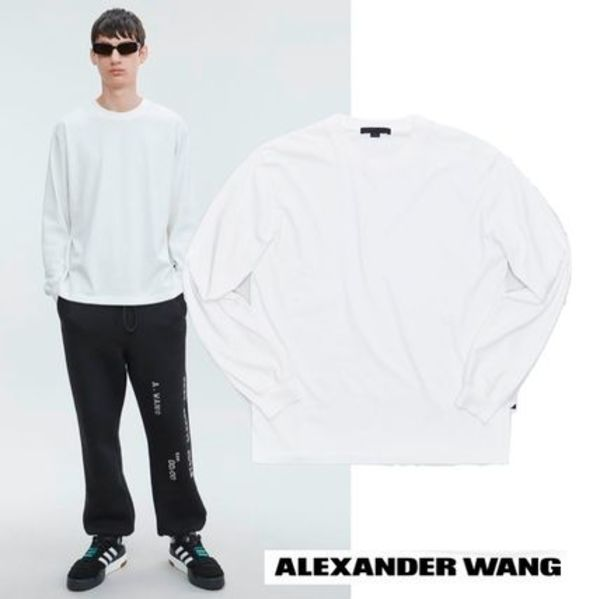 Alexander Wang LONG SLEEVE CREWNECK TEE アレキサンダーワン