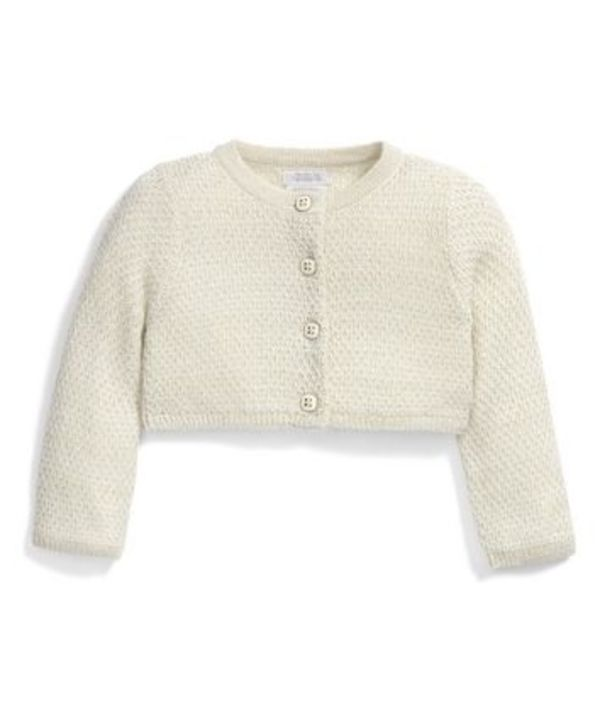 Mamas & Papas[ママス&パパス] Occasion Sparkle Knit Cardigan