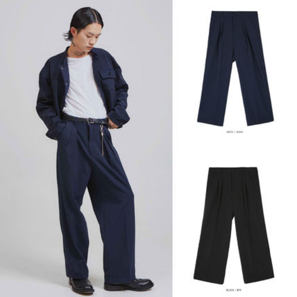 【OPENTHEDOOR】crows zero wide slacks (2 color) - UNISEX