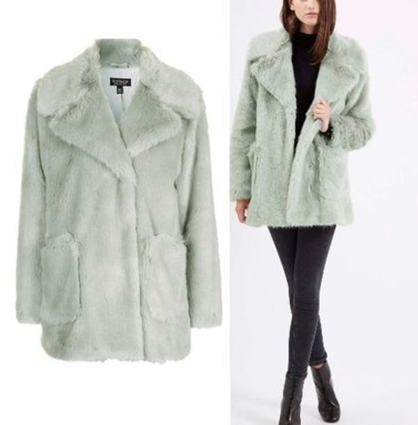 秋冬最新作★Patch Pocket Luxe Faux Fur Coat