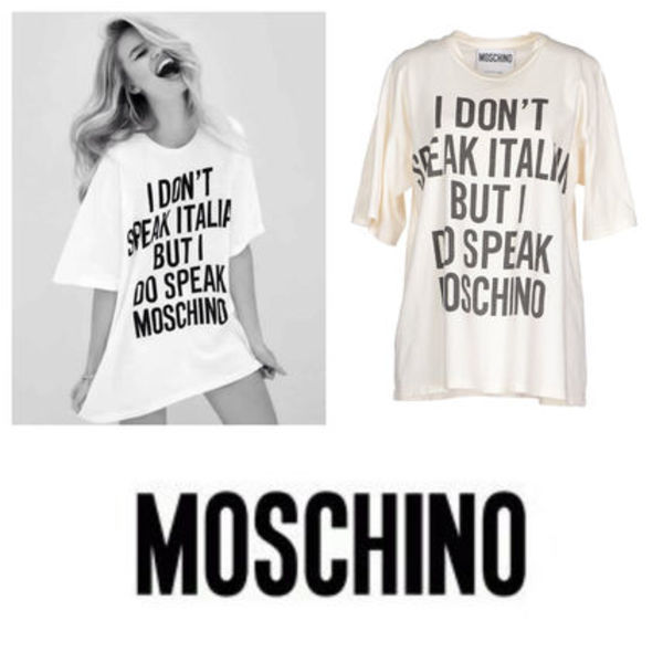 Moschino COUTURE Runway 登場 Tシャツ