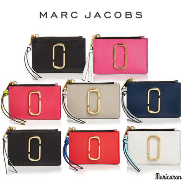 MARC JACOBS * Snapshot Top Zip Multi Wallet