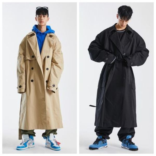 日本未入荷 [ATTENTIONROW] OVERFIT SIDECARGO TRENCH COAT