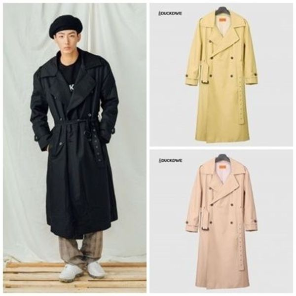 日本未入荷DUCKDIVEのO.S.L TRENCH COAT 全3色