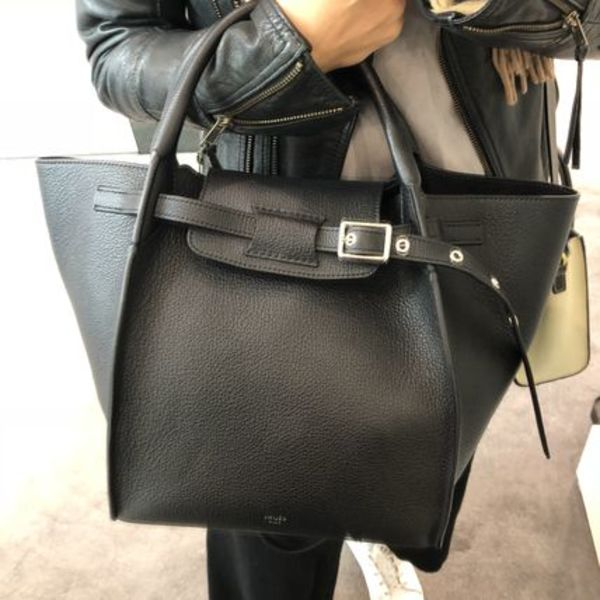 【CELINE】18SS新作 Big Bag Small Long Strap (Black)