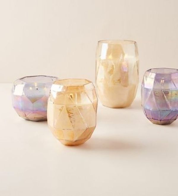 SALE☆Anthropologie★Illume Faceted Candle