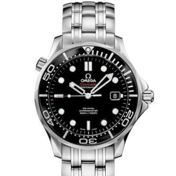 破格値 OMEGA(オメガ) Seamaster Automatic Black Dial Men's