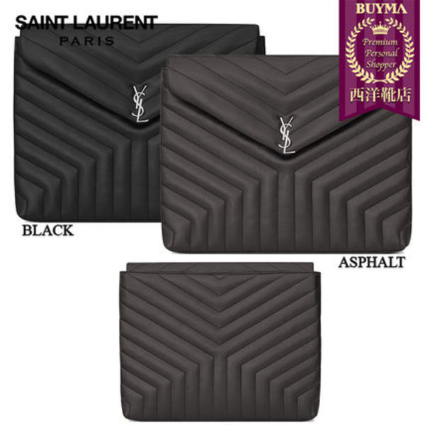 【正規品保証】SAINT LAURENT★18春夏★LOULOU DOCUMENT HOLDER