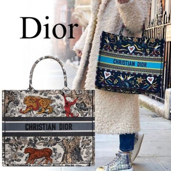 "19CRUISE*DIOR*""DIOR BOOK TOTE"" バッグ ビッグサイズトート"