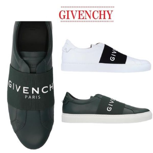 【GIVENCHY】Urban Street elastic leather sneakers