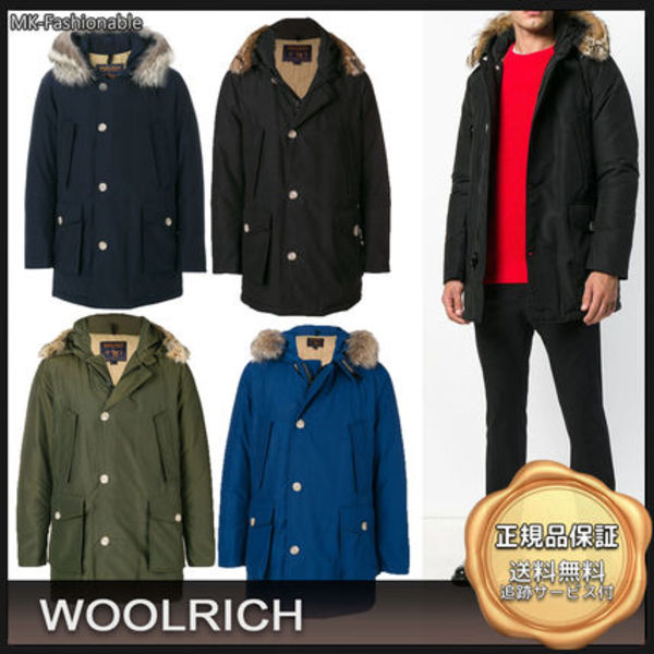 [19AW]送料込み◆WOOLRICH Arctic Parka DF ファー付きダウン