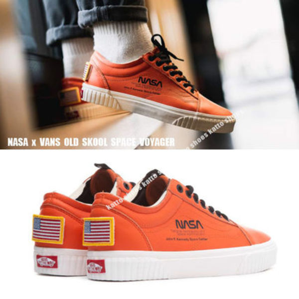 VANS x NASA OLD SKOOL★SPACE VOYAGER コレクション