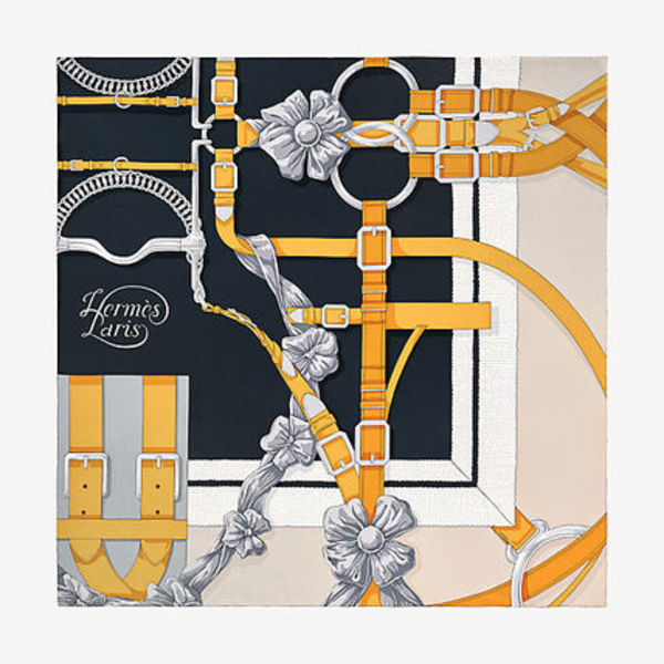 【HERMES】スカーフ Grand Manege Detail scarf 90