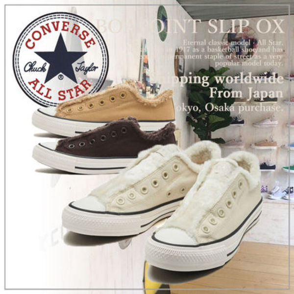 【CONVERSE】コンバース  ALL STAR BOAPOINT SLIP OX
