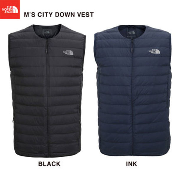 【THE NORTH FACE】M'S CITY DOWN VEST★2色